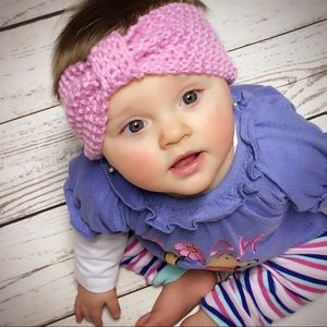 Other - NEW Beautiful Crochet Baby Headband/ Various Color